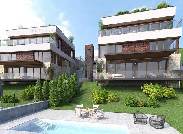 Duplex 170 mp + 140 mp terasa, cu panorama spectaculoasa, Grigorescu - imaginea 1