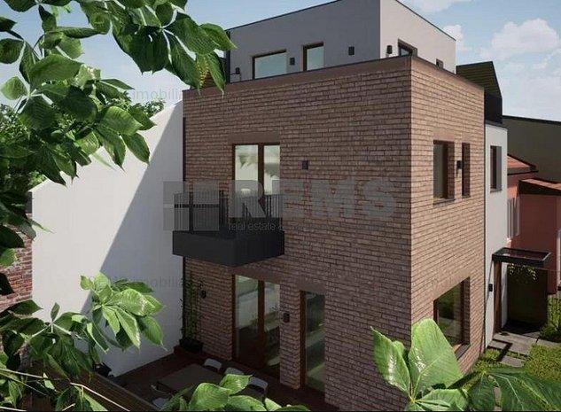 Casa cuplata, 4 camere, 110 mp + 90 mp teren, cartierul Gruia - imaginea 1