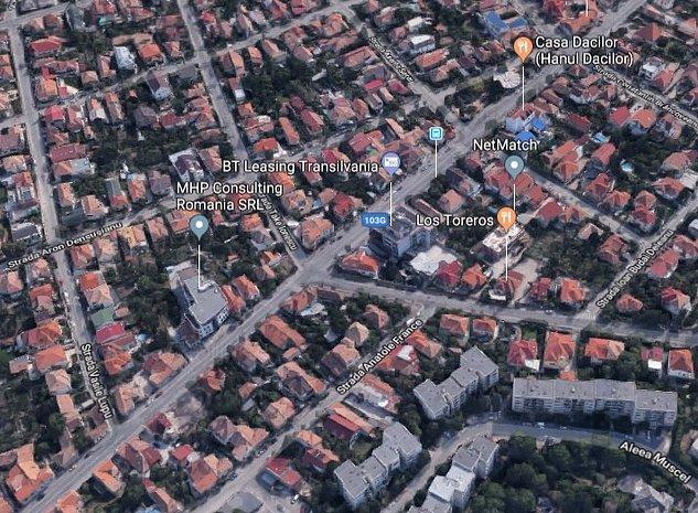 Teren de vanzare strada C. Brancusi pentru constructii imobil mixt P+6E - imaginea 1