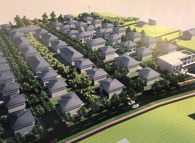 Teren cu PUZ aprobat in Borhanci pentru case sau duplex - imaginea 1