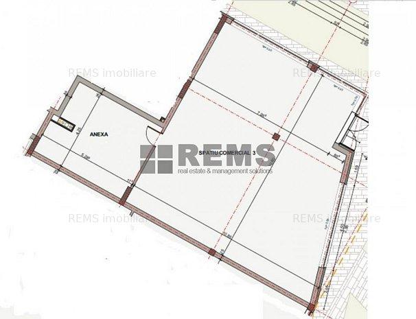 Spatiu comercial, zona strazii Fabicii in constructie noua finalizata - imaginea 1