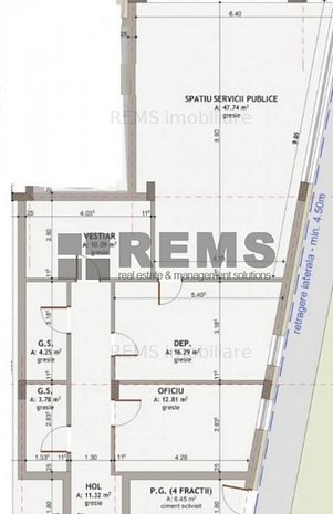 Spatiu central, constructie noua- zona Piata Mihai Viteazu - imaginea 1