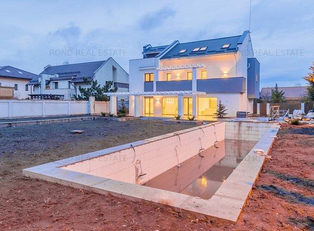Vila finalizata, cartier rezidential, piscina - imaginea 1