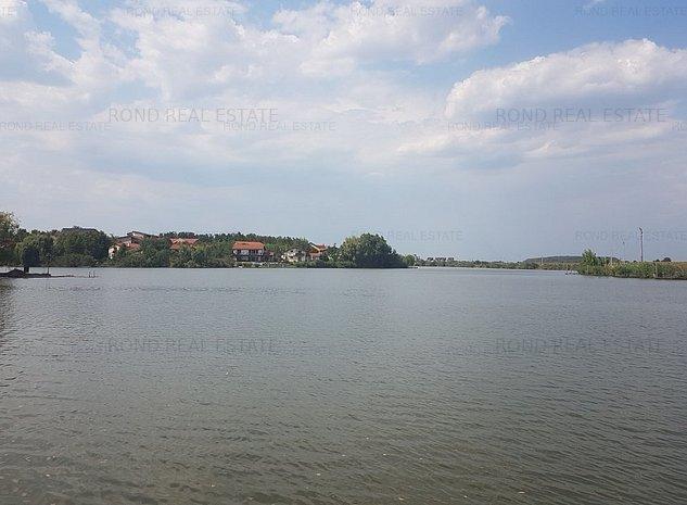 Teren cu deschidere la lac si cu fata catre padure - imaginea 1