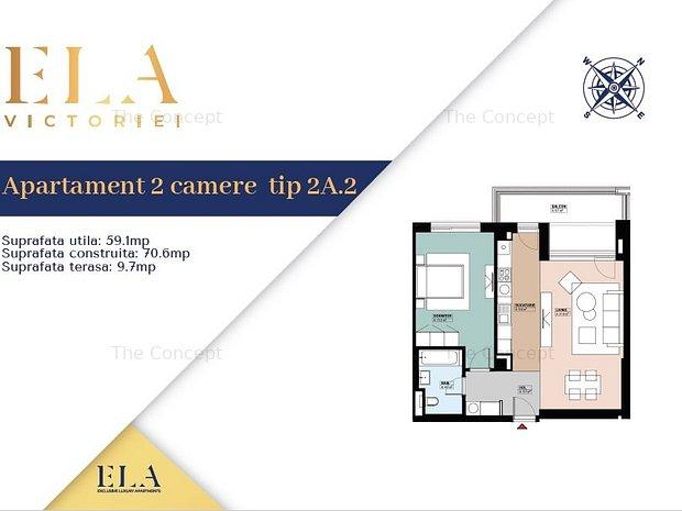 Apartament 2 camere ELA Victoriei - imaginea 2