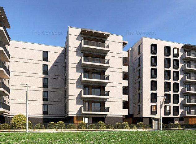 Apartament 2 camere Ansamblu Rezidential - imaginea 1