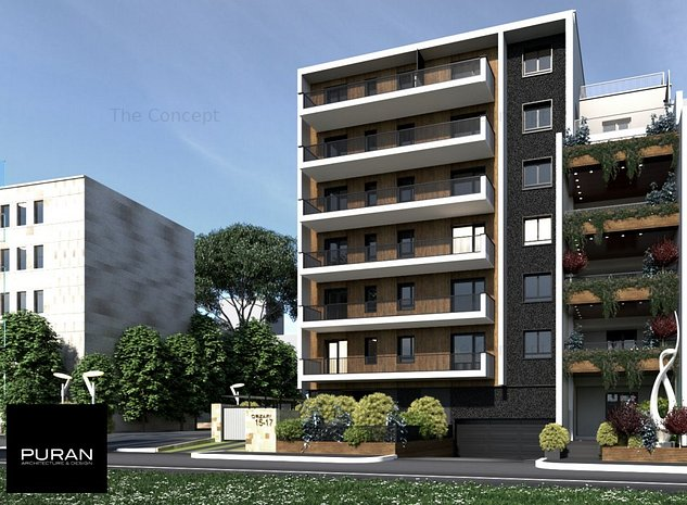 Apartament 3 camere Ansamblu Rezidential - imaginea 1