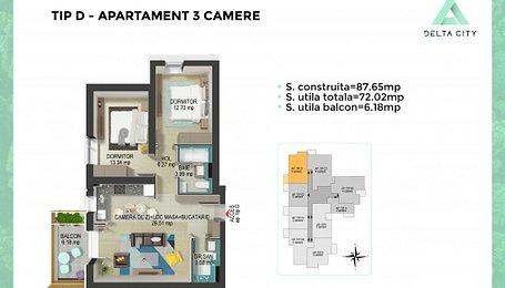 Apartamente Bucuresti, Vacaresti