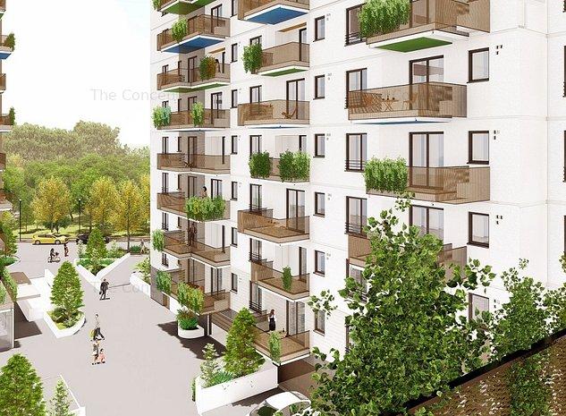 Apartament 2 camere Tip E2 | DELTA CITY DECOMANDAT - BUCATARIE INCHISA - imaginea 1