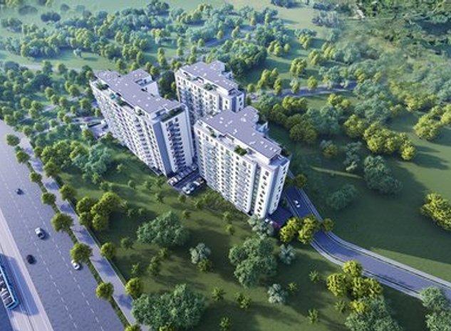 2 camere tip E1 | DELTA CITY - Ansamblu Rezidential Premium - imaginea 1