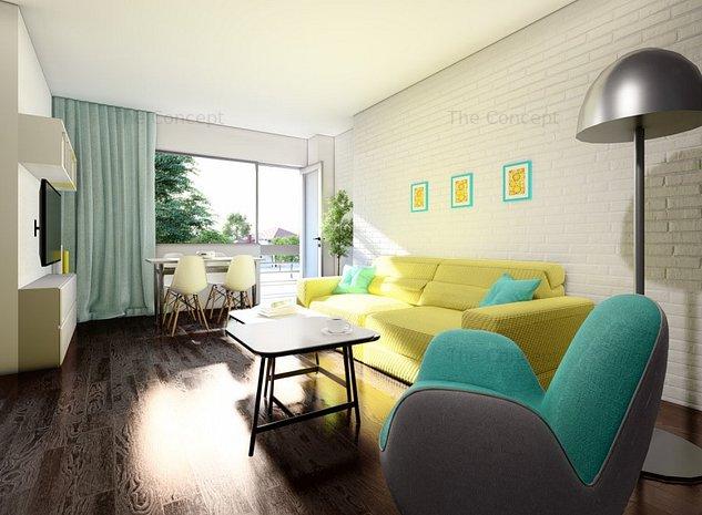 Apartament 3 camere Titan - imaginea 1