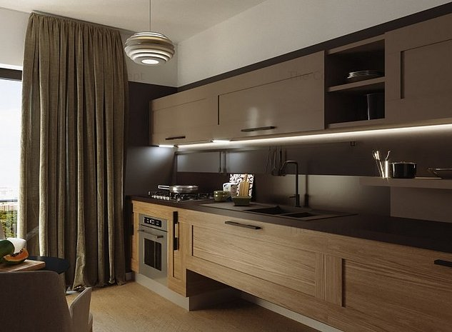 NOU   Apartament 2 camere B07 CORE Timpuri Noi   Ansamblu Rezidential - imaginea 1