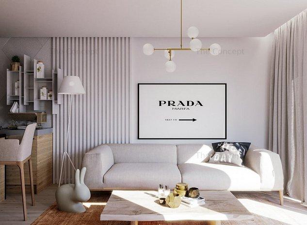 NOU | Apartament 3 camere B08 CORE Timpuri Noi | Ansamblu Rezidential - imaginea 1