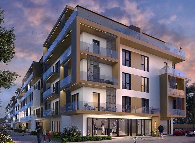Nou | 2 camere cu Gradina 24 mp - Direct Dezvoltator | Rezidential cu SPA - imaginea 1