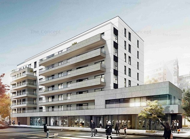 Spatiu comercial 1 in ansamblul rezidential ELA Victoriei - imaginea 1