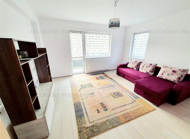 Apartament 2 camere, calduros si luminis, mobilat complet zona Coresi - imaginea 1
