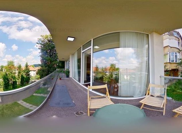 EXPLOREAZA VIRTUAL! Resedinta in vila, terasa, loc parcare, Ultracentral, Brasov - imaginea 1