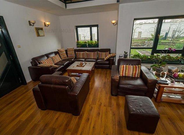 EXPLOREAZA VIRTUAL! Rezidenta cu sauna, piscina, pomi fructiferi etc. pe 700 mp - imaginea 1