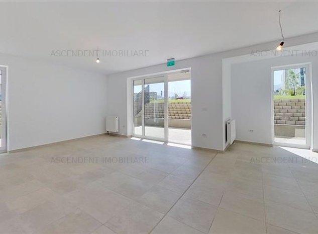EXPLOREAZA VIRTUAL! Spatiu comercial, cu terasa proprie, adiacent Coresi Busines - imaginea 1