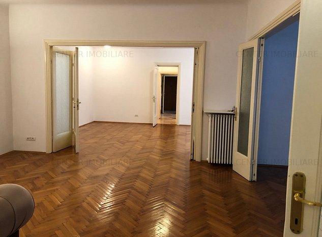 CISMIGIU,4 camere deosebit, renovat, etaj 5, 2 boxe, 123 mp, bloc 1947 fara risc - imaginea 1