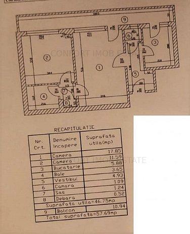 CALEA GRIVITEI - METROU 6 MINUTE - IMOBIL FARA RISC SEISMIC - imaginea 1