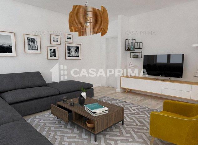Apartament 4 camere, Decomandat, 2Bai, Terasa - imaginea 1