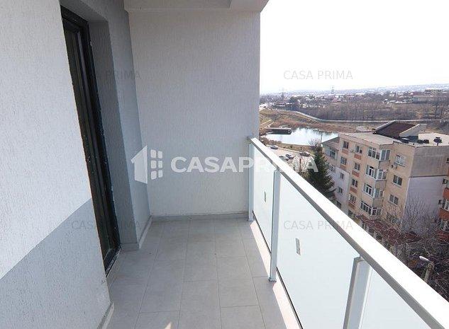 Ap. 2 camere decomandat, 64 mp, bloc FINALIZAT la bulevard, bucatarie patrata - imaginea 1