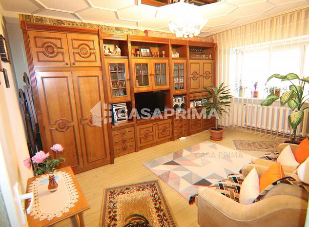 NICOLINA PRIMA STATIE Apartament 3 camere, decomandat, etajul 3! - imaginea 1