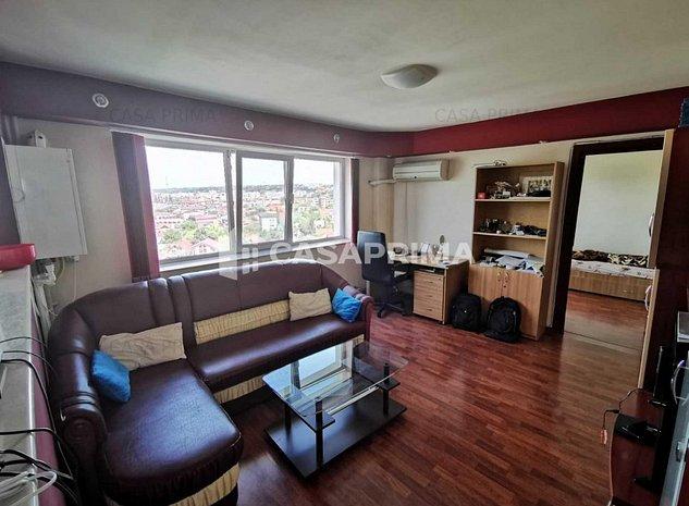Apartament 2 camere SD-Podu Roș, vedere panoramică, complet mobilat și utilat! - imaginea 1