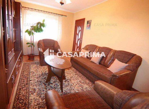 Apartament 2 camere D, zona Dacia-mobilat și utilat!! - imaginea 1