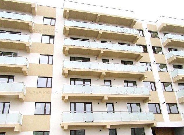 Apartament 1 camera, ansamblu rezidential inchis, 100 m de strada, Bucium - imaginea 1