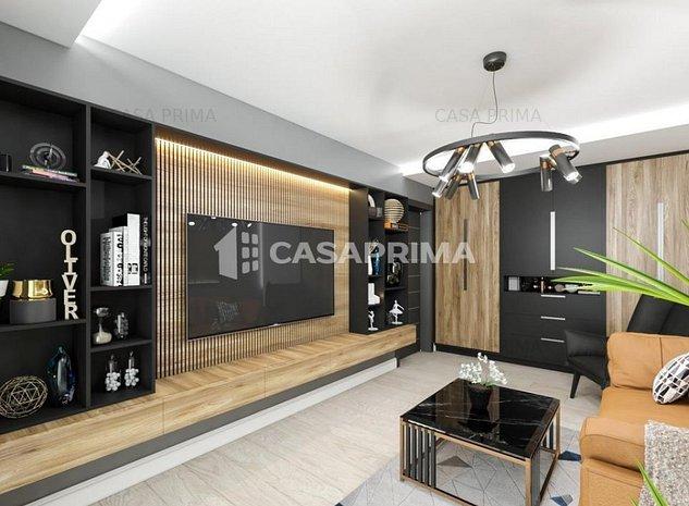 Apartament 1 camera, 41 mp, bucatarie inchisa, Frumoasa - Poitiers, la bulevard - imaginea 1