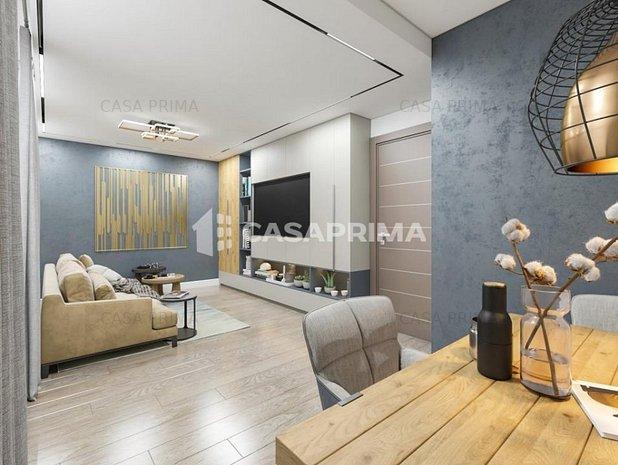 Apartament decomandat 61 mp, bloc NOU la bulevard Frumoasa - Poitiers  - imaginea 1