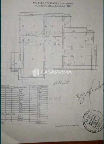 OFERTA NOUA! Apartament 4 camere, 2 bai, 3 balcoane, Alexandru cel Bun - imaginea 1