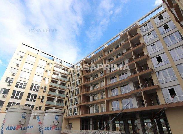 Apartament 1 camera, 38 mp, BALCON INCHIS, geam baie, bloc NOU langa LIDL - imaginea 1