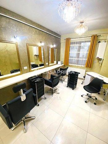 Spațiul salon de înfrumusețare/mobilat și utilat/Moara de Foc-bloc nou! - imaginea 1