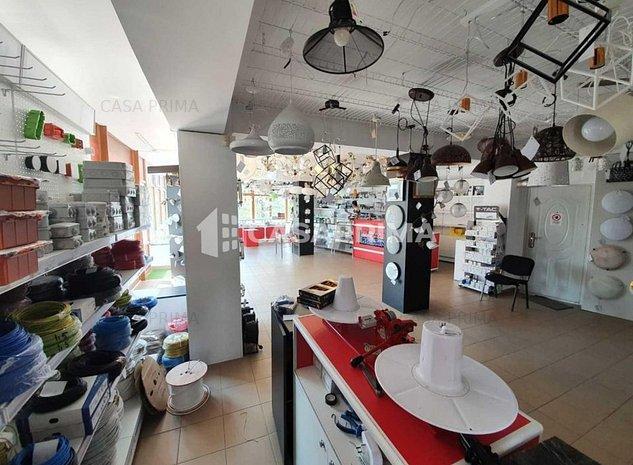 Spațiu comercial 139 mp + 50 mp, open space, vitrină/vad!! - imaginea 1