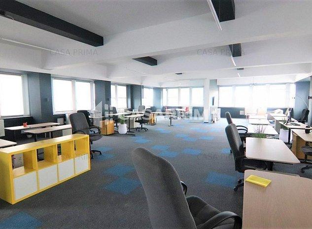 Spații de birouri clasa A-Calea Chișinăului/Metalurgiei, 240 mp (etajul 5 !! - imaginea 1