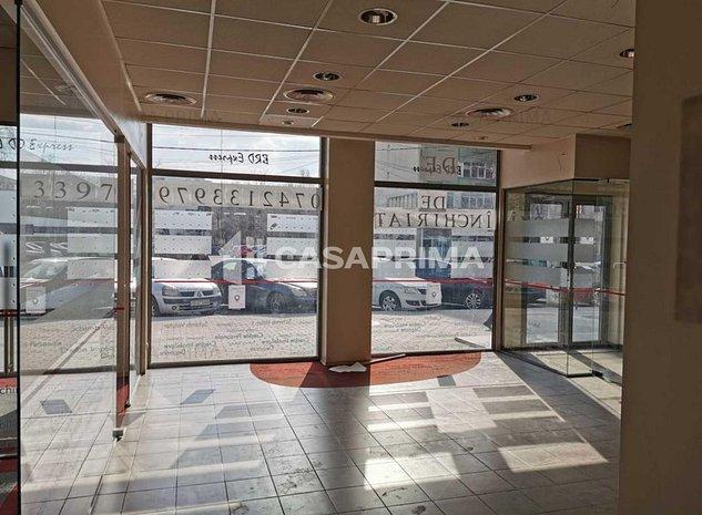 Spațiu comercial Podu Roș-vad, vitrină, pretabil pt orice tip de activitare! - imaginea 1
