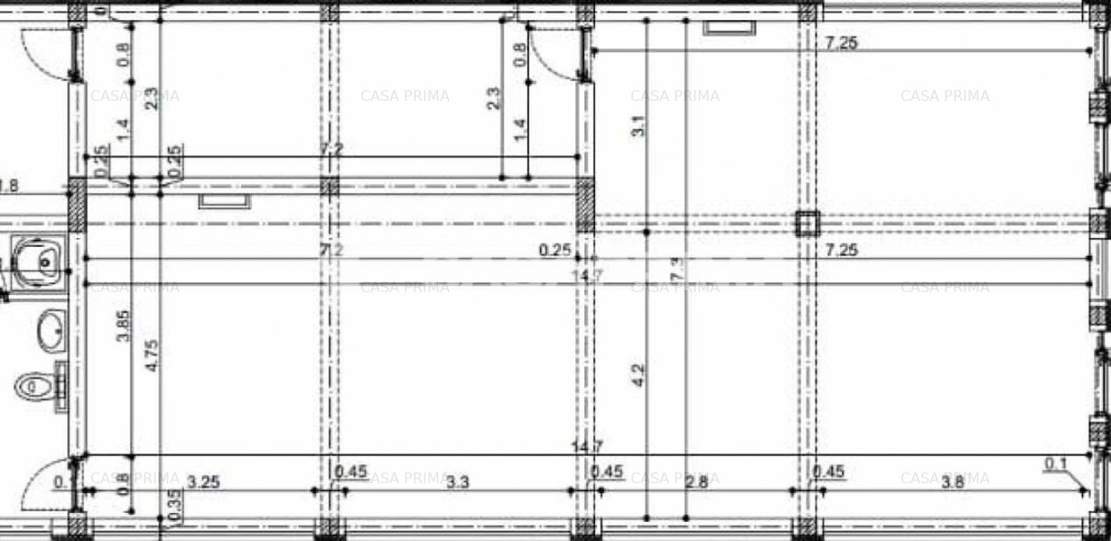 Spatiu Comercial, 110mp, Zona Rediu-Gradinita KIKI, la Strada Principala! - imaginea 1
