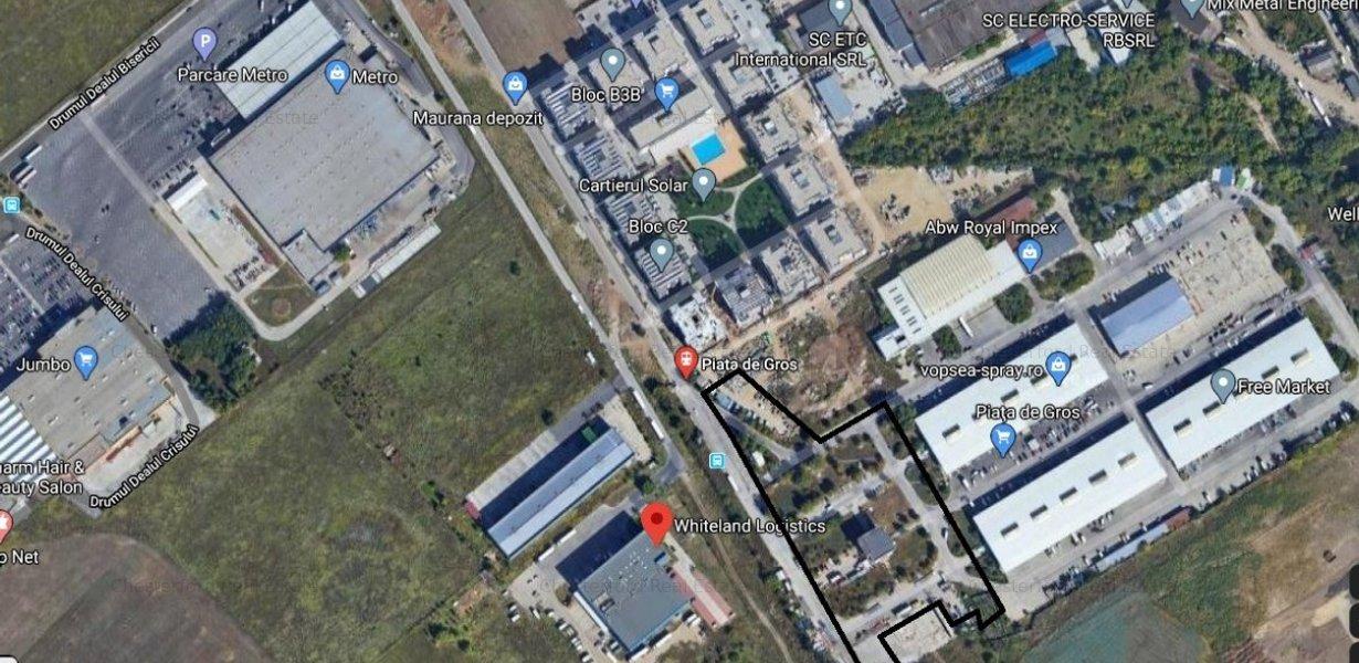 Teren de vanzare Piata de Gros 25266 mp - imaginea 1