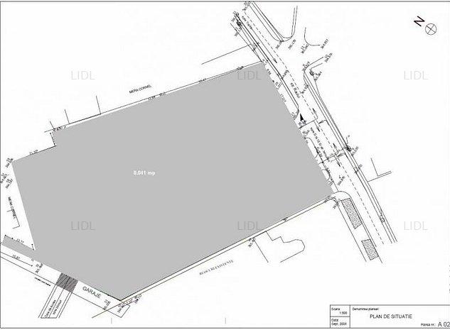 Teren central disponibil pentru vanzare / inchiriere (Cartier Fagarasului) - imaginea 1