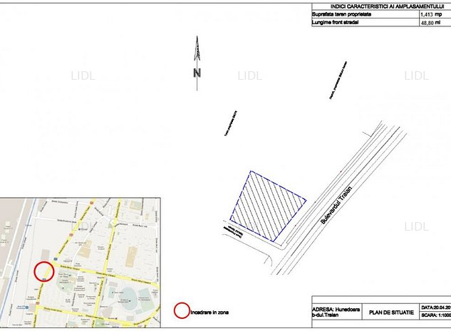 Teren disponibil pentru vanzare / inchiriere - Mihai Viteazu (Micro 3) - imaginea 1