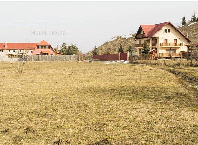 Lot de casa 500 mp in zona de vile Tarlungeni, Comision 0%. - imaginea 1