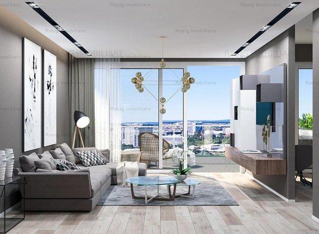 Apartament 2 camere in bloc nou Zona FLOREASCA - imaginea 1