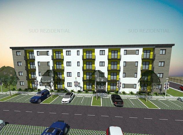 Apartament 2 camere, bloc nou 45.000 Euro - imaginea 1