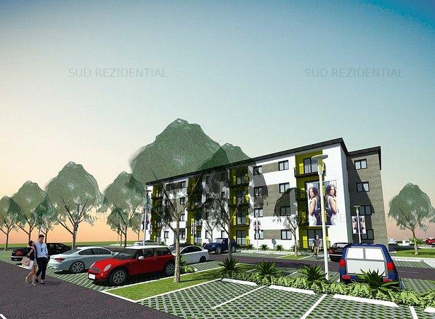Apartament 2 camere, bloc nou 48.000 Euro - imaginea 1