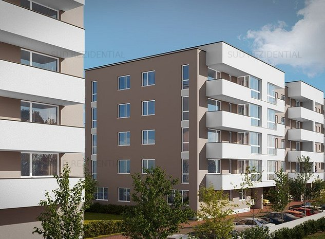 Apartament 2 camere – Metalurgiei Residence Park , etaj 2 , imobil nou . - imaginea 1