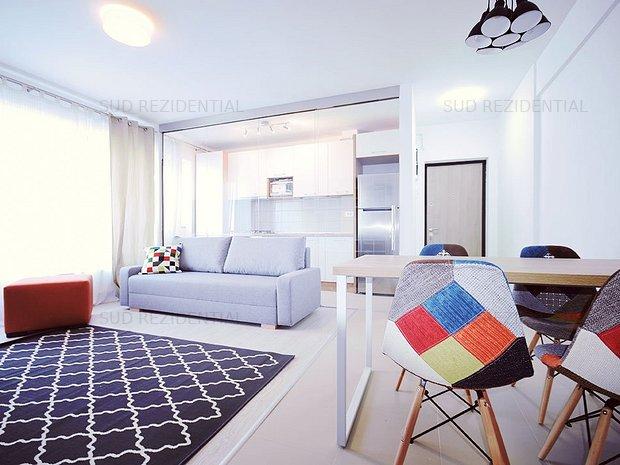 Apartament cu 2 camere, bloc construit, parcare proprie,  - imaginea 1