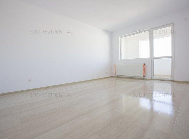Apartament decomandat, etaj 3/6, balcon inchis in termopan, centrala proprie - imaginea 1